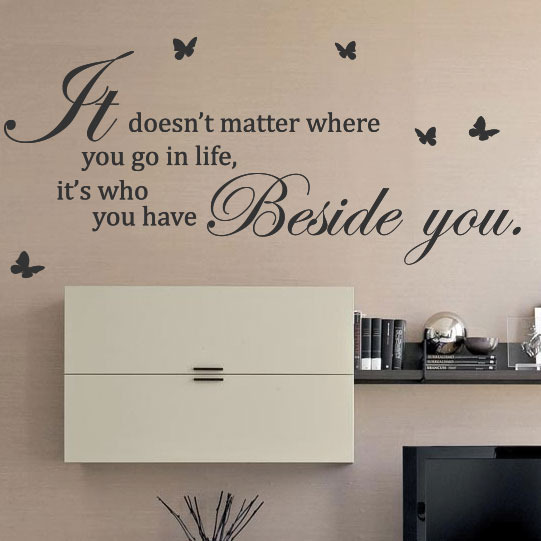 Quote stickers for walls target : Home quote wall decals stickers quotes target
