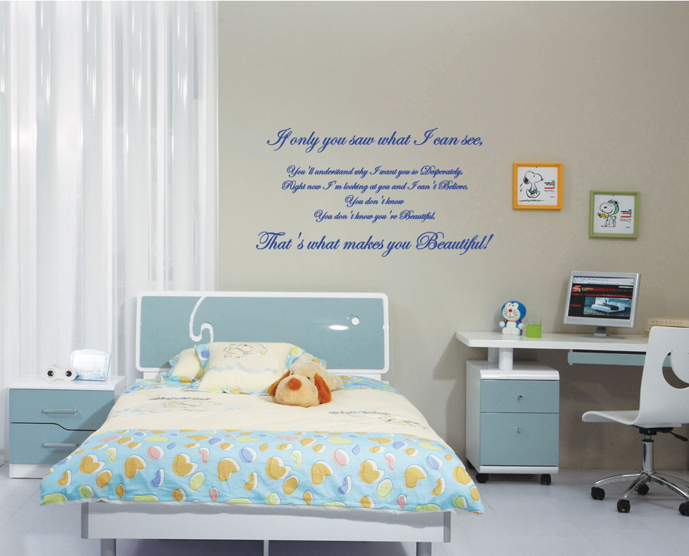 Wall Stickers Quotes One Direction : Unique With One Of Thelatest Trends    Wall  Decals